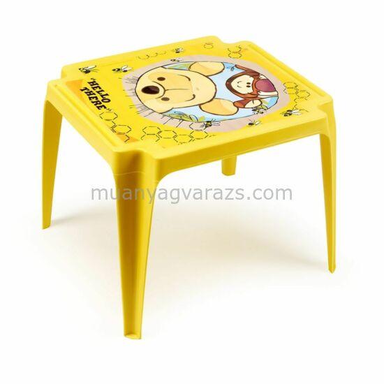 Gyerek kisasztal Micimackó mintával