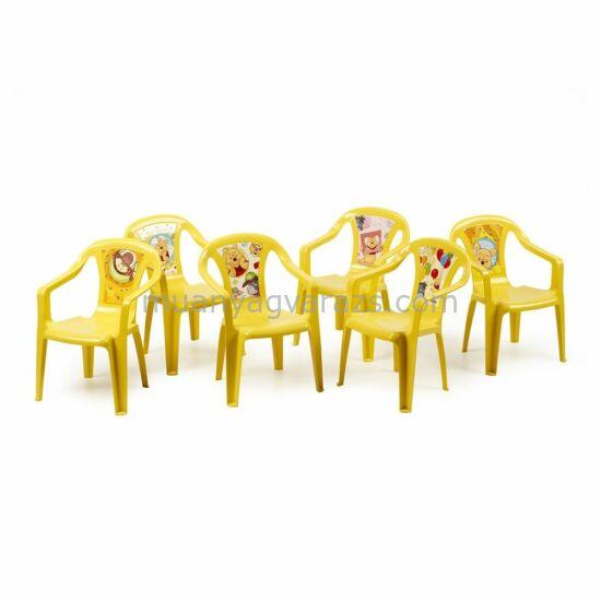 Micimackó gyerek kisszék