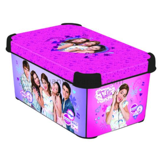 Violetta tárolódoboz 7l