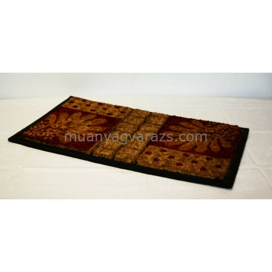 Lábtörlő mintás kókusz 45x75 cm