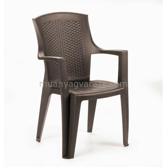 Éden kerti műanyag kerti szék