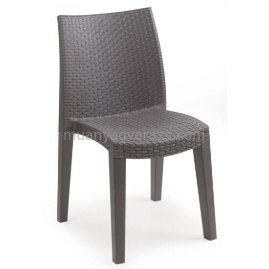 LADY műrattan kerti szék