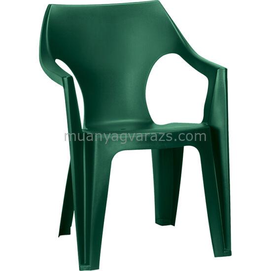 Allibert - Dante kerti műanyag alacsonytámlás szék