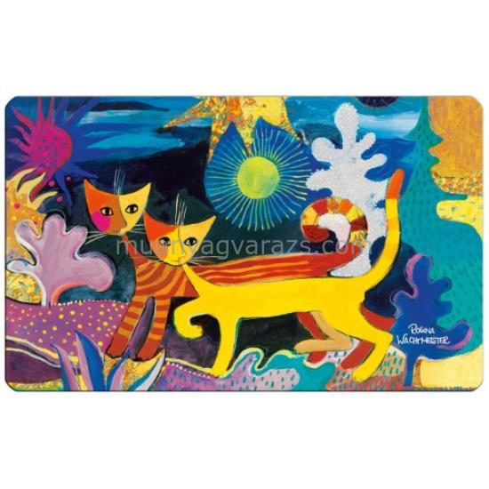 FRI.12211 Reggeliző alátét melamine 23,5x0,2x14,5cm,Rosina Wechtmeister:Wonderland
