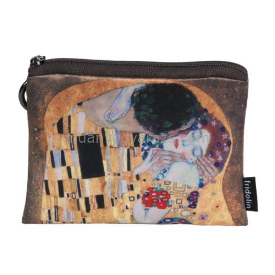 FRI.19292 Mini pénztárca 12x1,5x10cm, Klimt:The Kiss