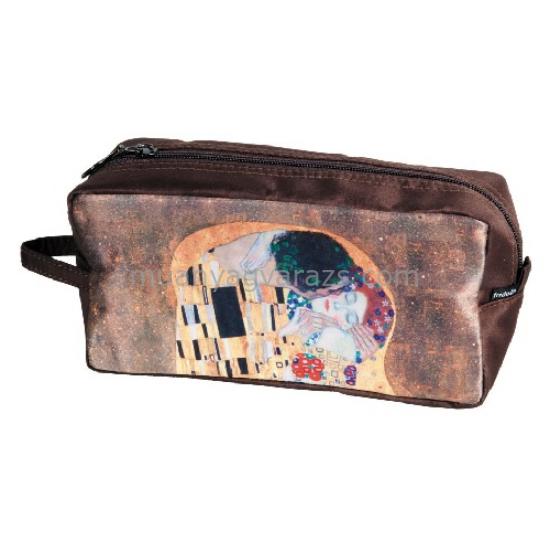 FRI.19331 Kozmetikai táska 25x12x8cm,Klimt:The kiss