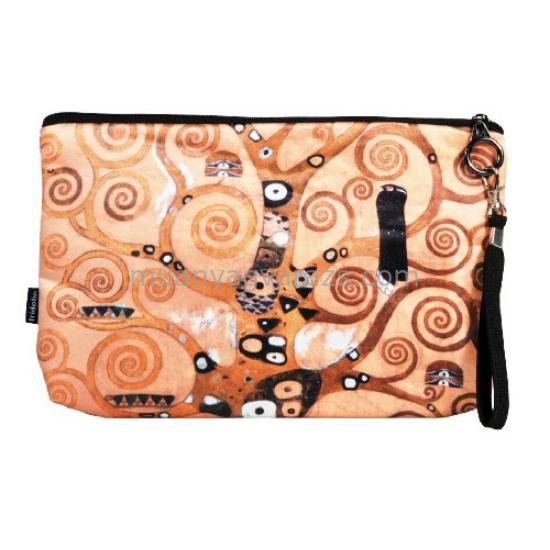 FRI.19382 Kozmetikai táska 25x3x17cm,Klimt:Életfa