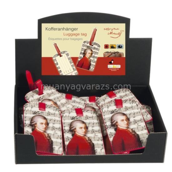 FRI.40176 Koffer cimke tok 6,5x11,5cm, Mozart