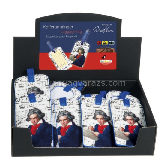 FRI.40181 Koffer cimke tok 6,5x11,5cm, Beethoven