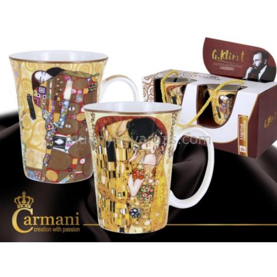 Porcelán bögre szett 0,3l,Klimt: The Kiss