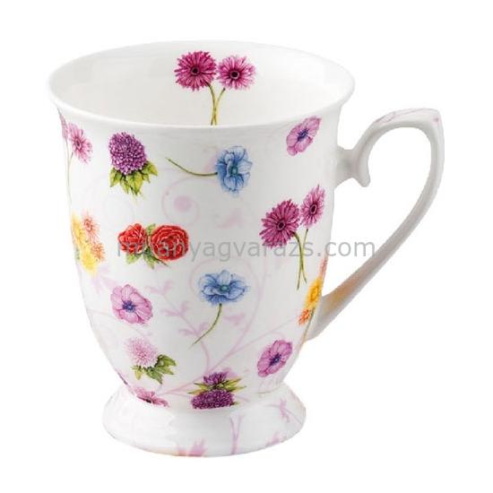 AMB.18709985 Flower Festival porcelán talpas bögre 0,25l