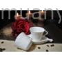 Kép 1/2 - D.G.Y2-2FS90-TINOS Porcelán kávéscsésze+alj,2 személyes dobozban,90ml,Tinos