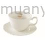 Kép 1/2 - R2S.1269MATE Porcelán csésze aljjal, 250ml, dobozban Maison Thé