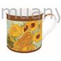 Kép 1/2 - R2S.170VAN1 Porcelán bögre dobozban,300ml,Van Gogh:Napraforgók
