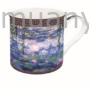 Kép 1/2 - R2s.170MON3 Porcelán bögre dobozban 300ml,Monet:Vizililiom